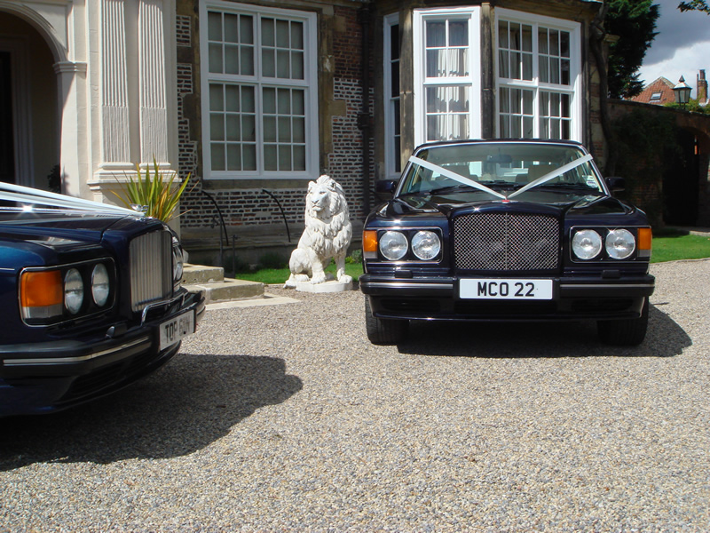 Yorkshire Wedding Cars - Chauffeur driven Bentley Turbo RL ...