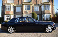 Yorkshire Wedding Cars - Rolls Royce Phantom. Based near Harrogate, North Yorkshire