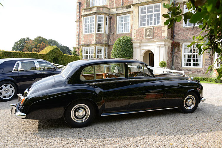 Yorkshire Wedding Cars - Rolls Royce Silver Cloud. Based near Harrogate, North Yorkshire